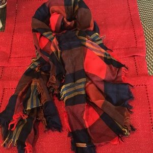 Coach Wool Extra Large Scarf New